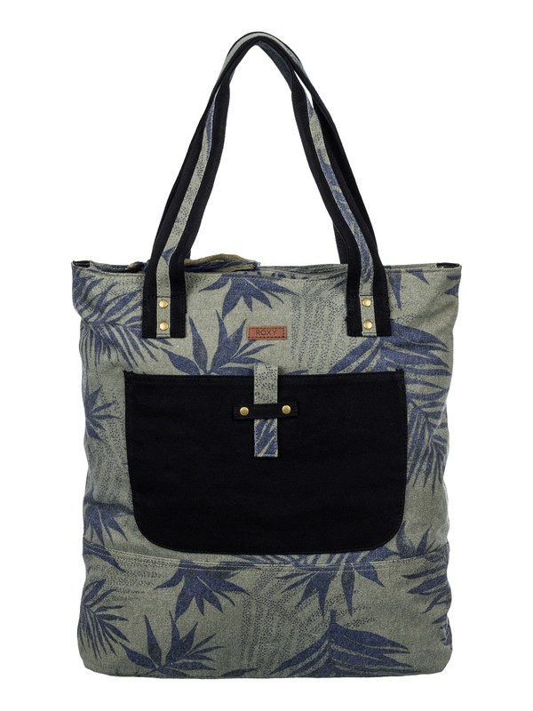 0 Day Sailor - Printed Canvas Tote Bag  ARJBA03043 Roxy