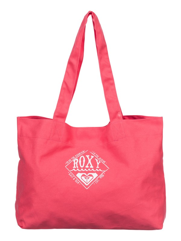 0 Wave Bound - Printed Canvas Tote  ARJBA03046 Roxy