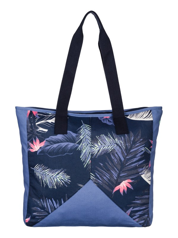 0 Tropicana - Cotton Canvas Tote Bag  ARJBP03091 Roxy