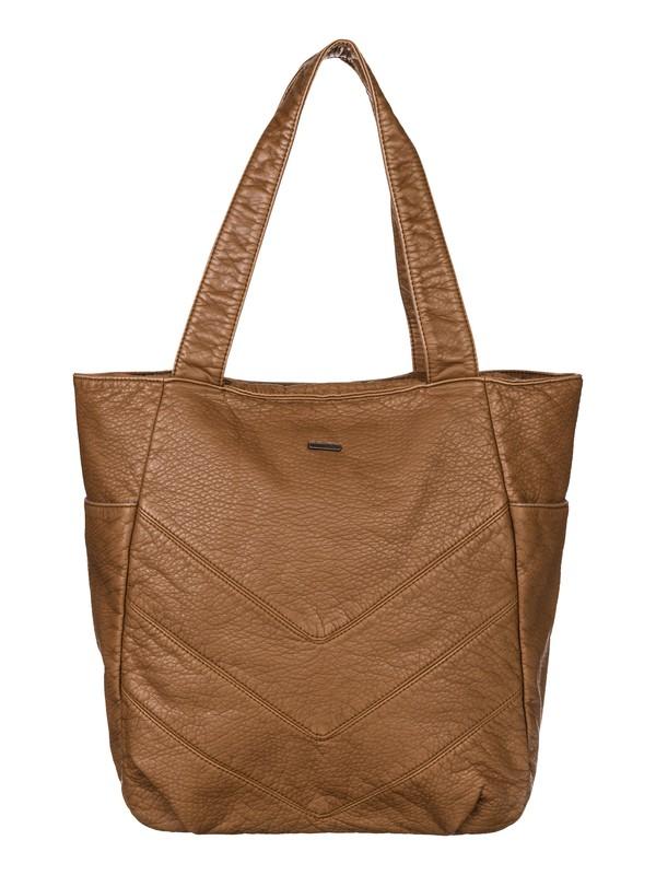 0 Pristine - Faux Leather Shoulder Bag  ARJBP03107 Roxy