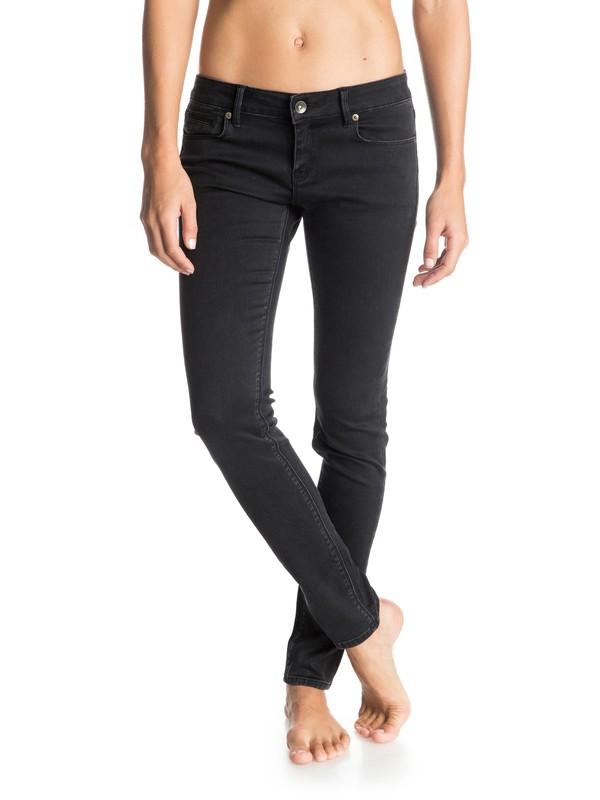0 Suntrippers Black Skinny Jeans  ARJDP03003 Roxy