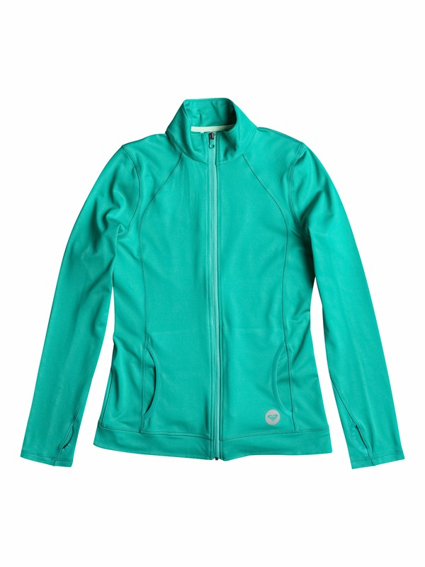 0 Get It - Long Sleeve Zip-Up Jacket  ARJFT03133 Roxy