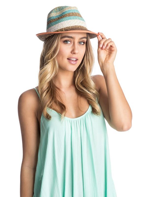 0 Big Swell Straw Hat  ARJHA03072 Roxy