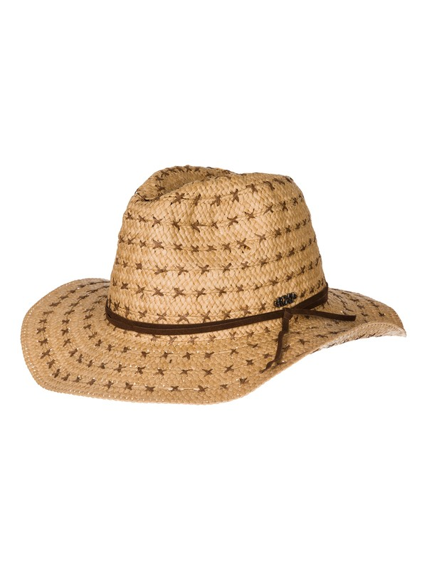 0 Cowgirl - Straw Hat  ARJHA03085 Roxy