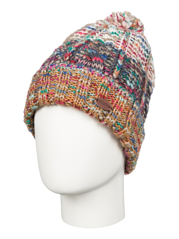 0 Sea Bank - Cable Knit Beanie  ARJHA03096 Roxy