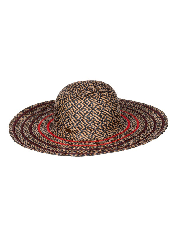 0 Sea Worthy - Floppy Straw Sun Hat  ARJHA03109 Roxy