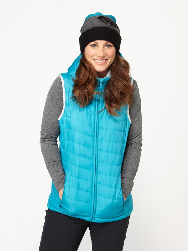0 WARM UP VEST  ARJJK00016 Roxy