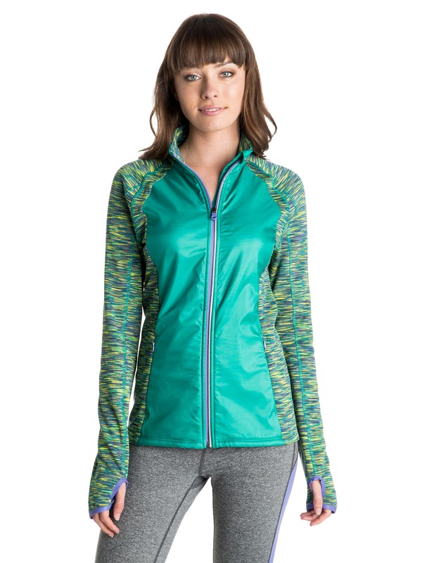 0 Carpe Viam - Zip Front Jacket  ARJJK03017 Roxy