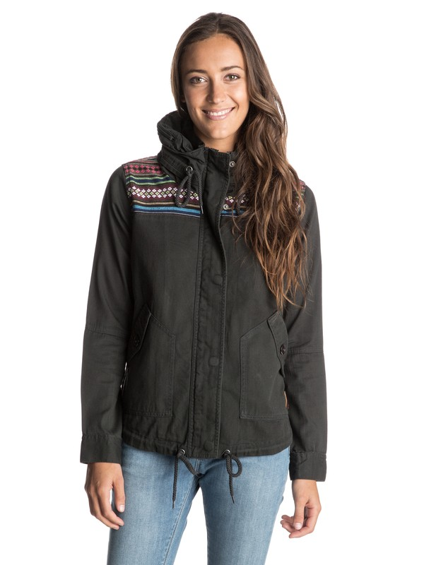 0 Wintercloud Military Jacket  ARJJK03018 Roxy