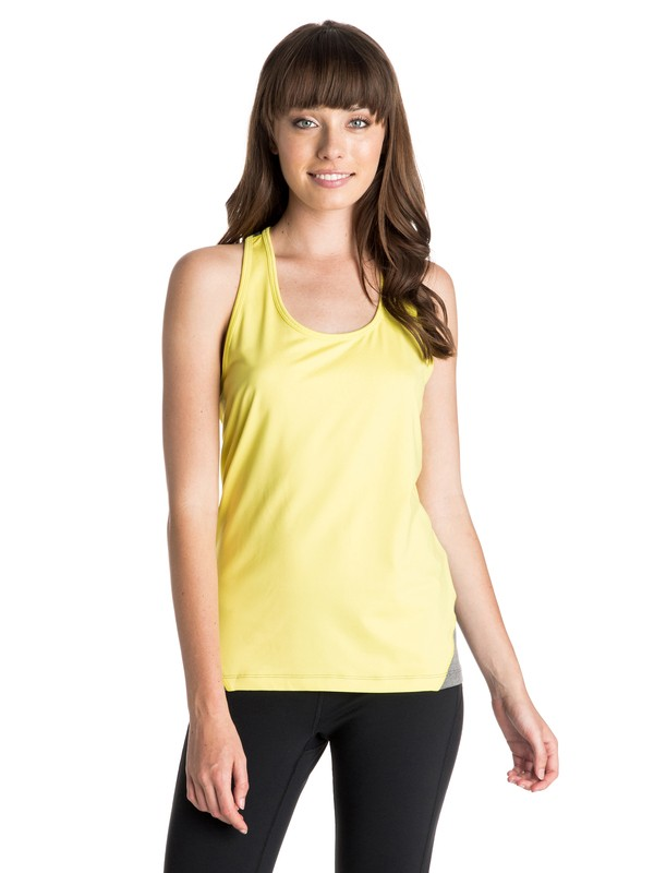 0 Tri Me - Moisture Wicking Tank Top  ARJKT03132 Roxy