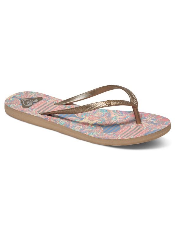 0 Bermuda - Sandalen für Frauen Gelb ARJL100249 Roxy