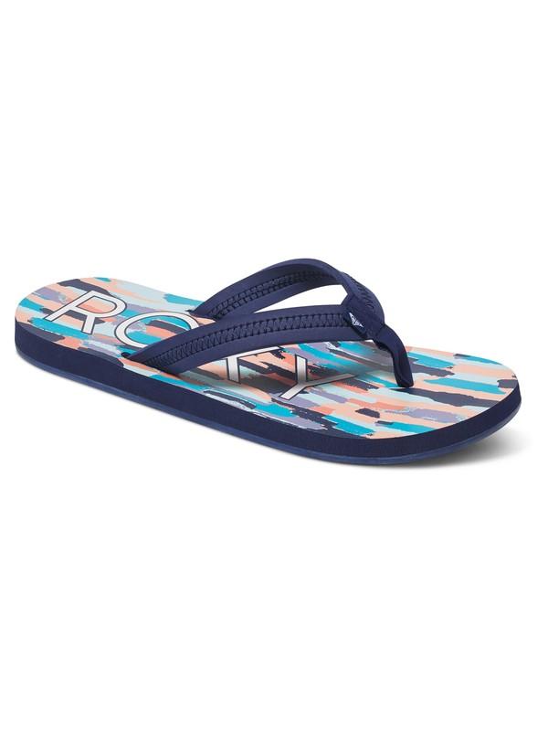 0 Vista - Tongs Bleu ARJL100393 Roxy