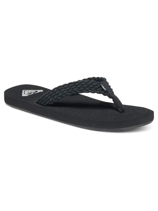 0 Porto Sandals Black ARJL100397 Roxy