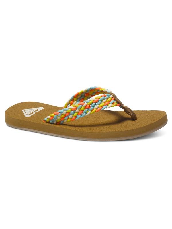 0 Porto - Sandalen für Frauen Orange ARJL100397 Roxy