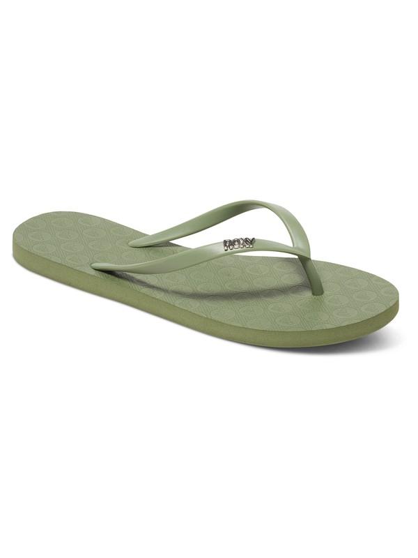 0 Viva - Chancletas Verde ARJL100507 Roxy