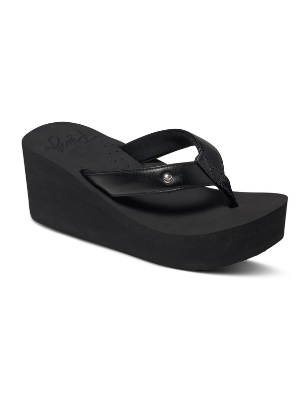 0 Mellie Wedge Flip Flops  ARJL100578 Roxy