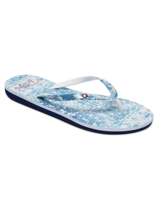 0 Portofino - Chancletas Azul ARJL100668 Roxy