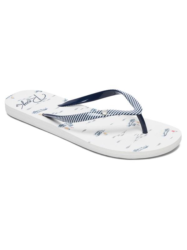 0 Portofino - Tongs pour Femme Bleu ARJL100668 Roxy