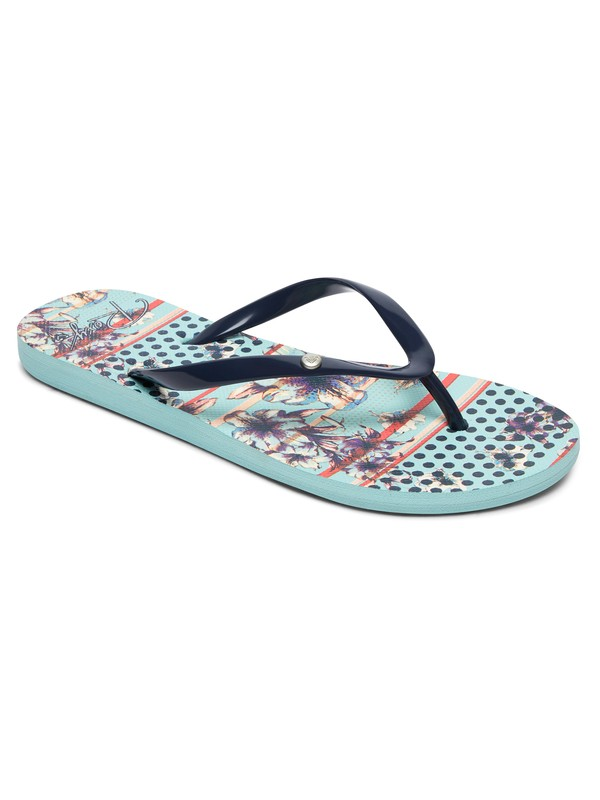 0 Portofino - Flip-Flops for Women Blue ARJL100668 Roxy