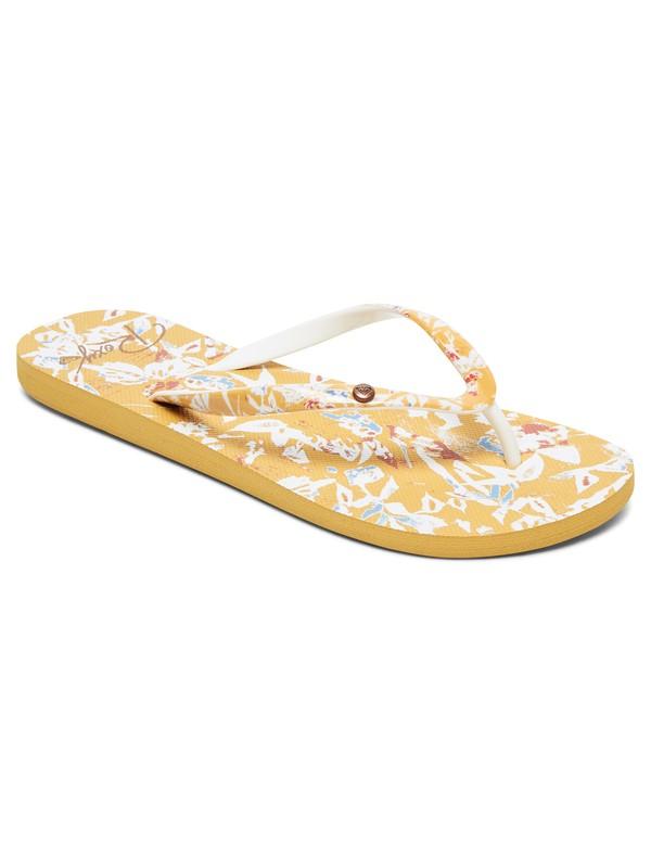 0 Portofino Flip-Flops Yellow ARJL100668 Roxy