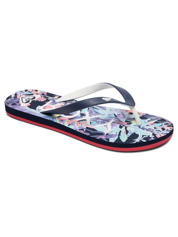 0 Tahiti Vi - Flip-Flops for Women Blue ARJL100669 Roxy