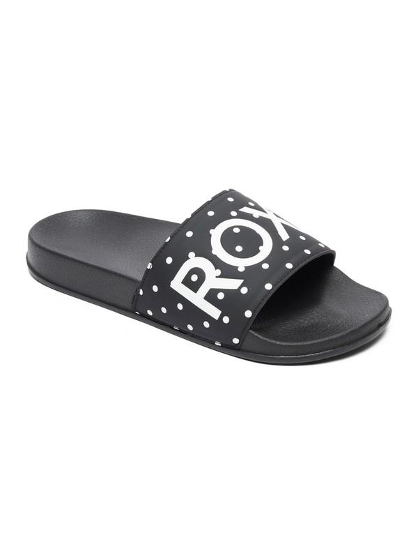 0 Slippy  Slider Sandals Black ARJL100679 Roxy