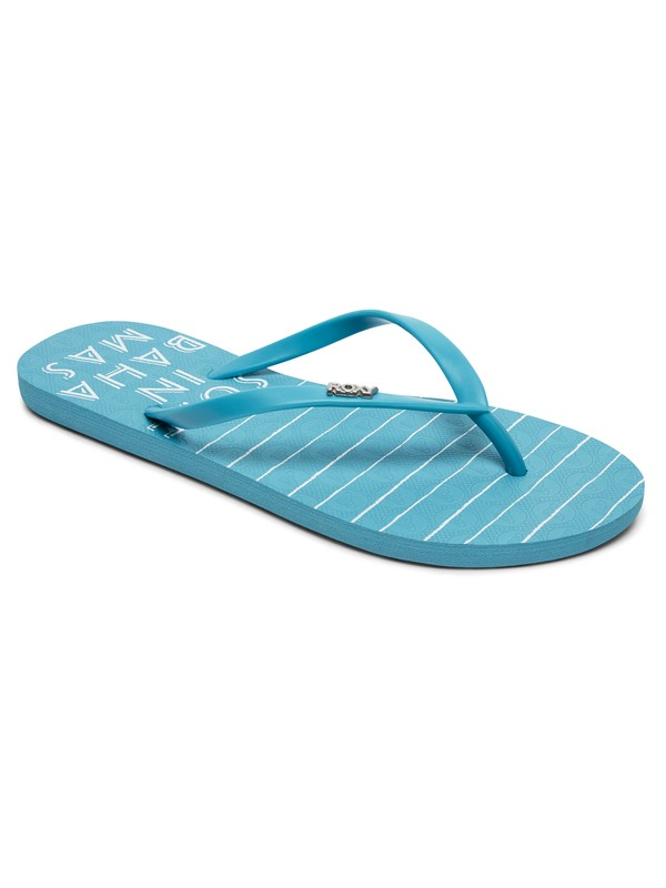 0 Viva Stamp - Flip-Flops Blue ARJL100683 Roxy