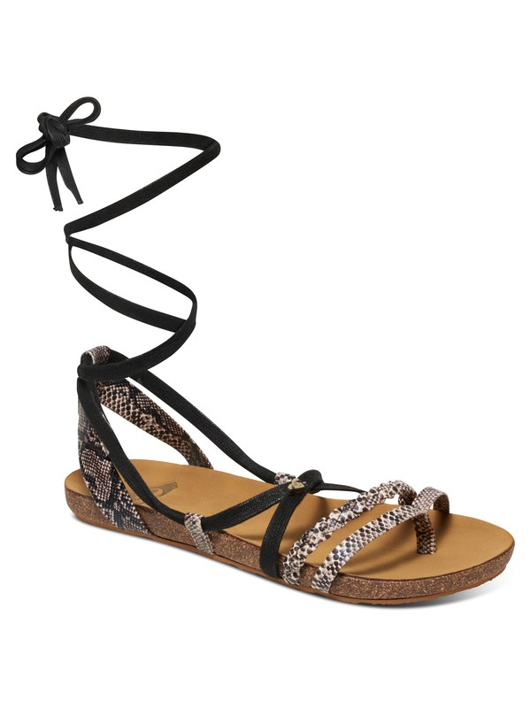 0 Kirby Wrap Sandals  ARJL200452 Roxy