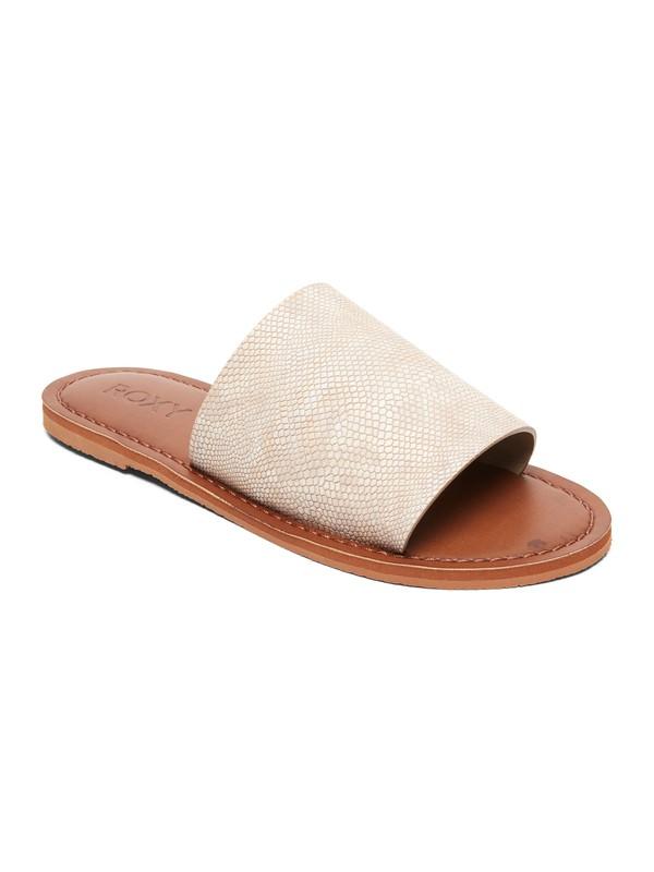 0 Kaia Slide Sandals White ARJL200654 Roxy
