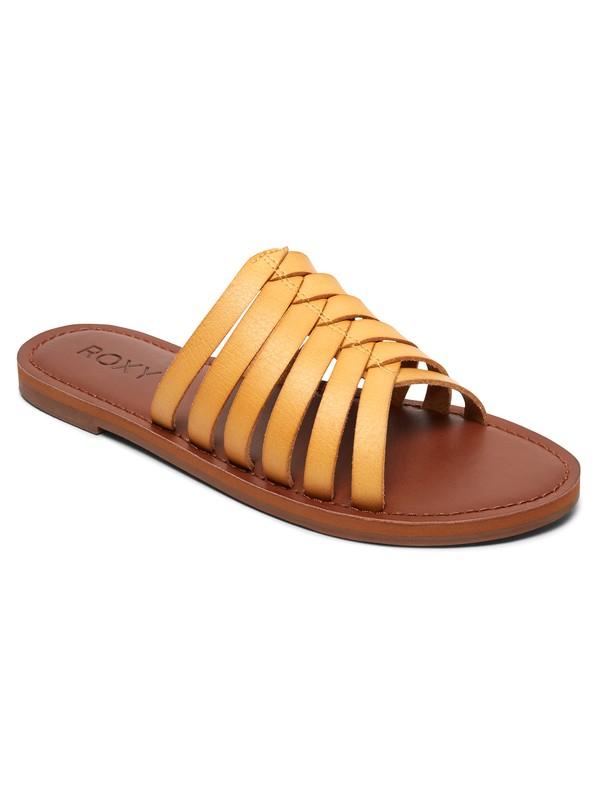 0 Sybil Sandals Yellow ARJL200675 Roxy