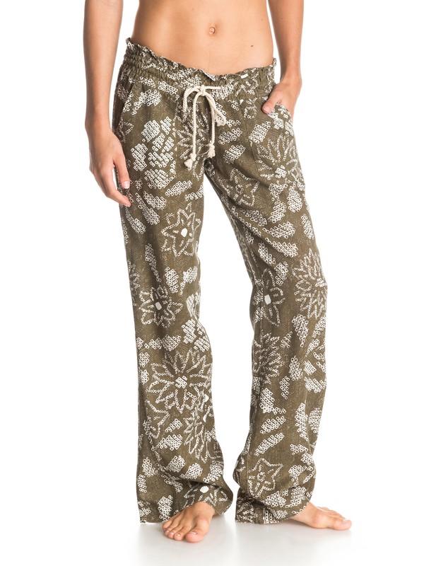 0 Pantalones Oceanside Print  ARJNP03013 Roxy