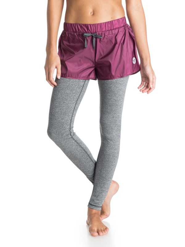 0 High Kick - 2-In-1 Hardloopshort en Legging  ARJNP03056 Roxy