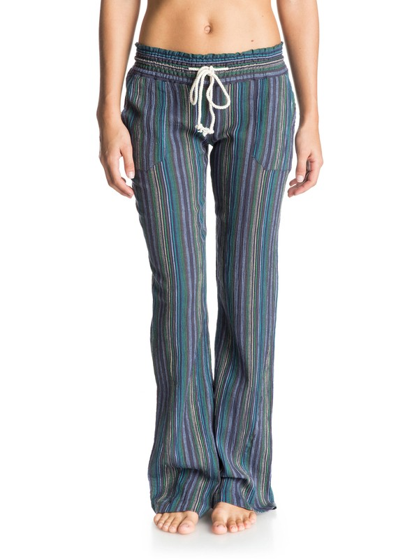 0 Oceanside Stripe Beach Pants  ARJNP03071 Roxy