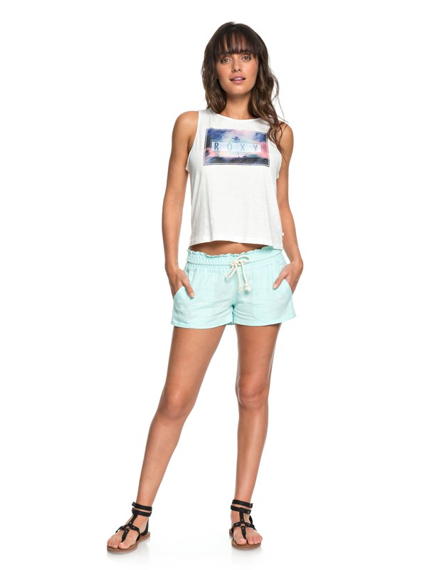 0 Oceanside - Beach Shorts Blue ARJNS03007 Roxy