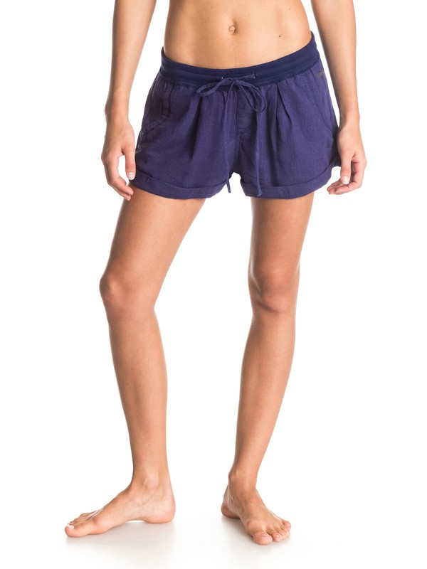 0 Militant - Pull On Woven Shorts  ARJNS03042 Roxy