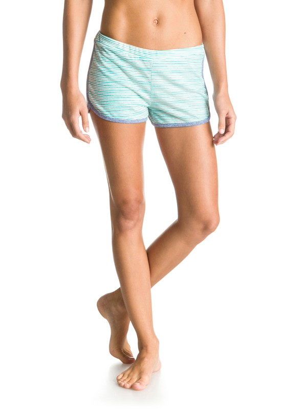 0 Lone Tree Printed Scalloped Shorts  ARJNS03053 Roxy