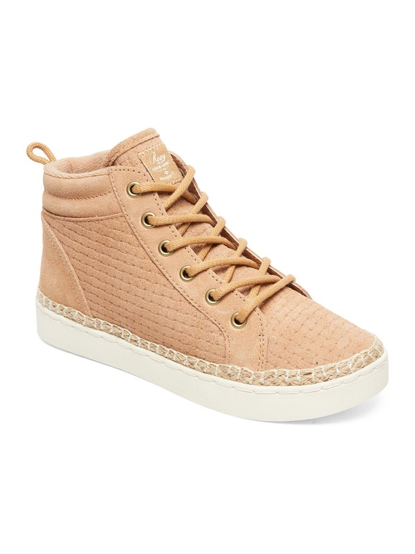 0 Harbor Fur - High-Top Shoes for Women Brown ARJS100020 Roxy