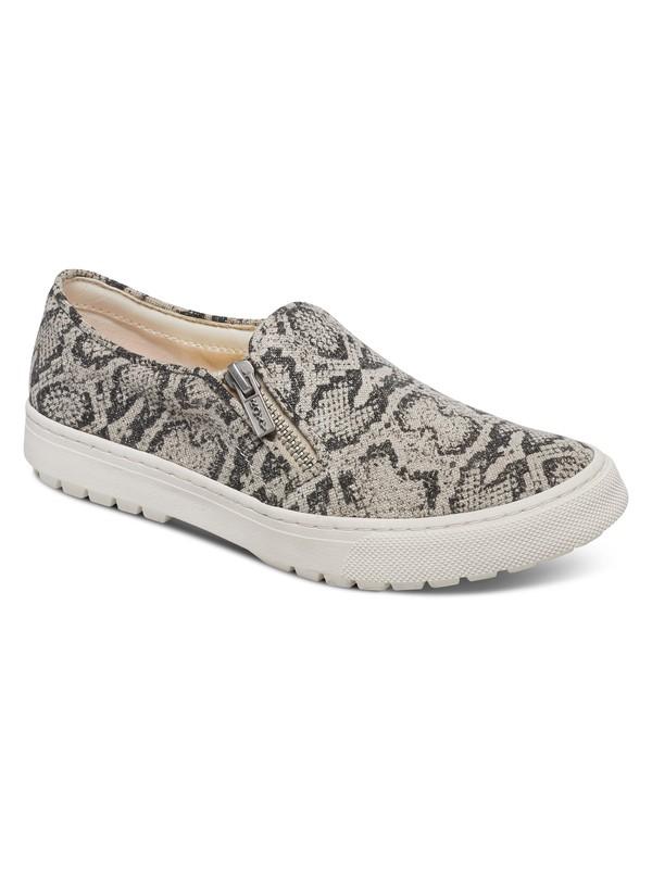 0 Juno - Zip Slip-On Shoes Black ARJS300256 Roxy