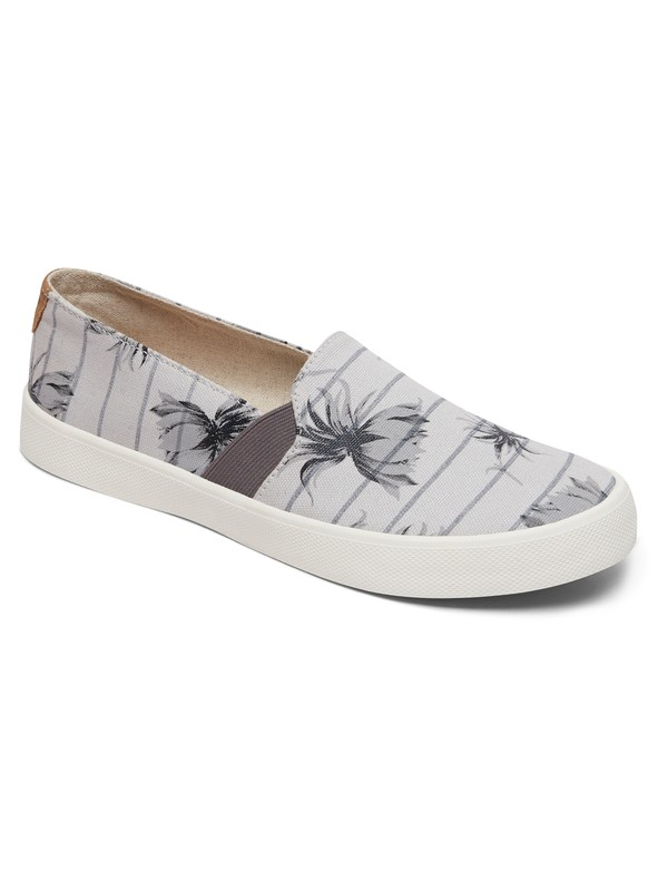 0 Atlanta Slip-On Shoes Grey ARJS300275 Roxy