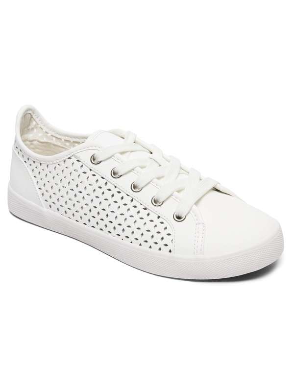 0 Callie  Lace Up Shoes White ARJS300301 Roxy