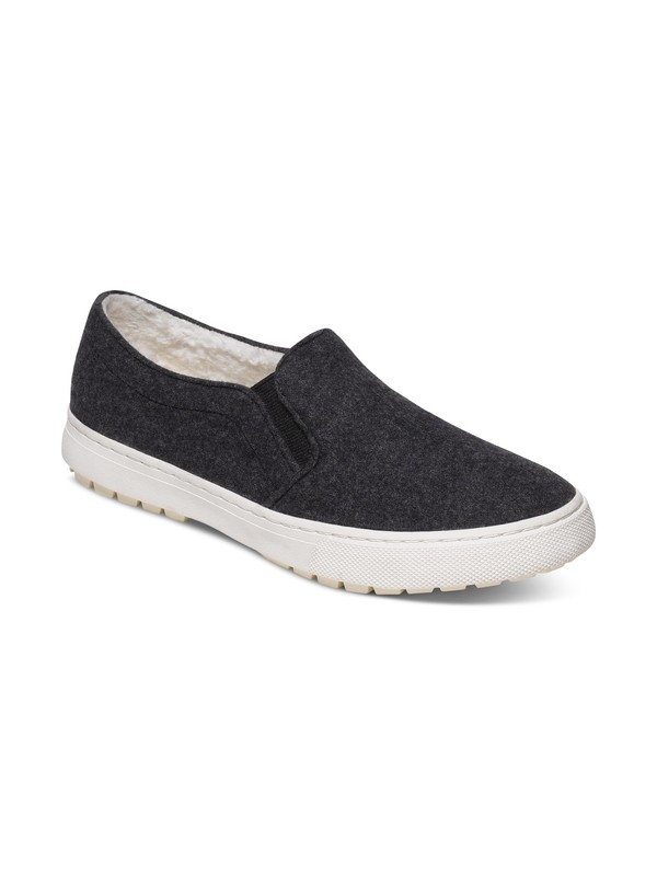 0 Juno Fur Slip-On Shoes  ARJS400103 Roxy