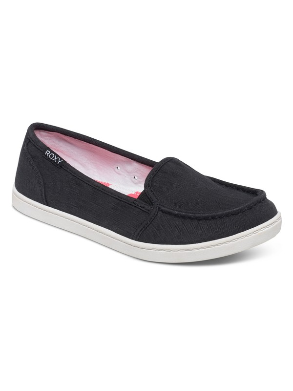 0 Lido Slip-On Shoes Black ARJS600288 Roxy