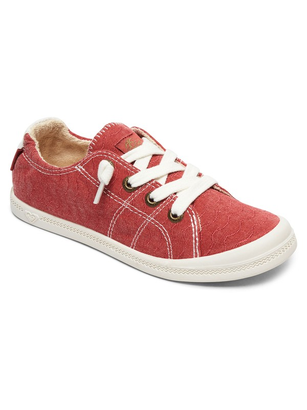 0 Bayshore Lace Up Shoes Red ARJS600418 Roxy