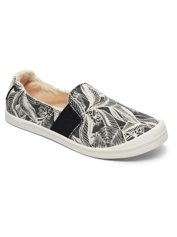 0 Palisades Slip On Shoes Black ARJS600422 Roxy