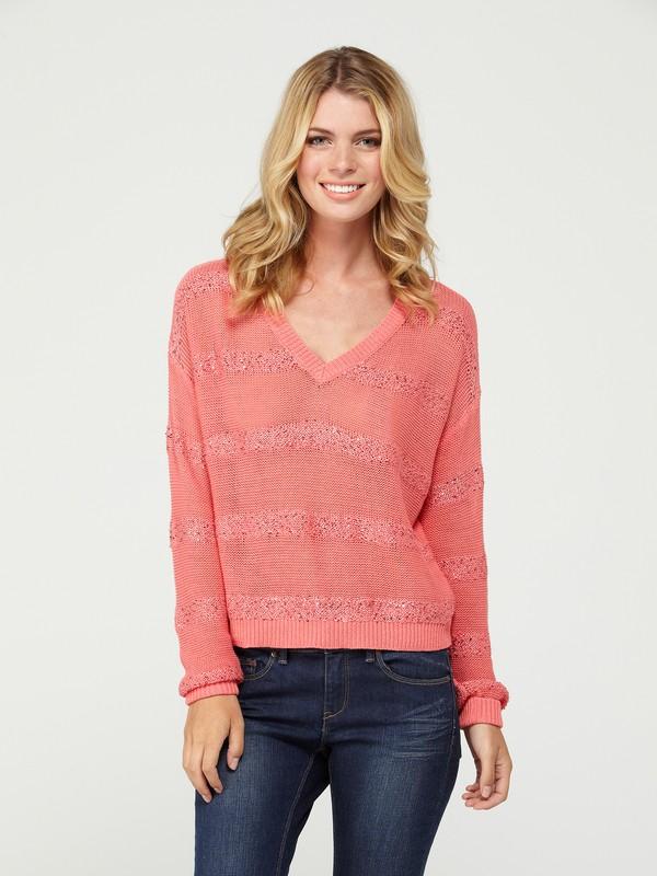 0 White Fire Sweater  ARJSW00060 Roxy