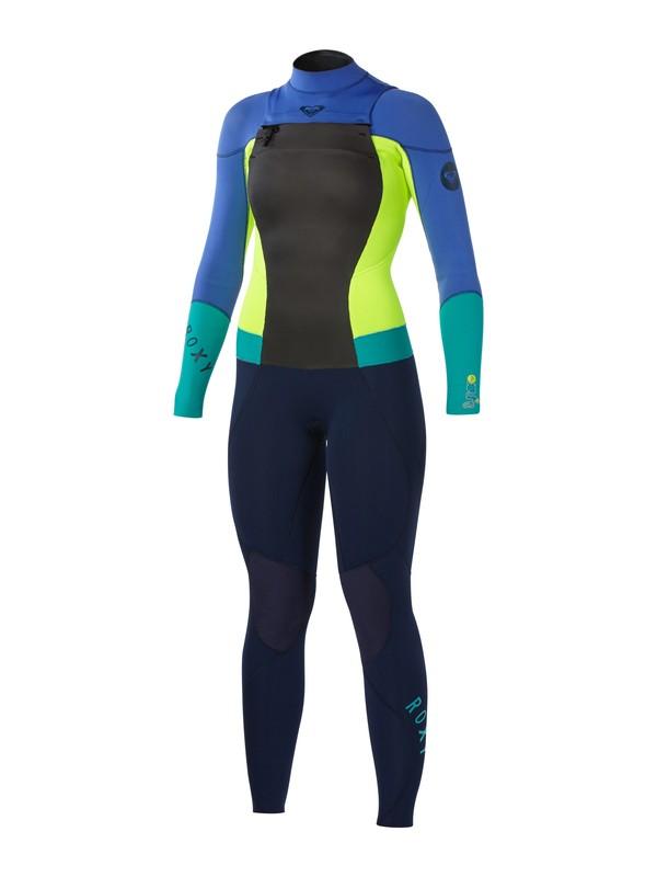 0 Syncro 3/2 Chest Zip Wetsuit  ARJW103005 Roxy