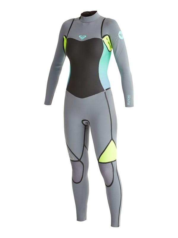 0 Syncro LFS 3/2mm - Back Zip Wetsuit  ARJW103020 Roxy