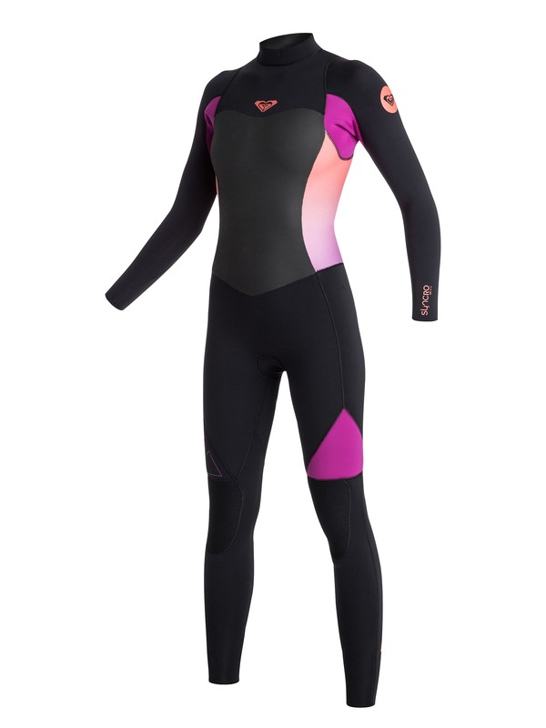 0 4/3mm Syncro GBS Back Zip Fullsuit  ARJW103039 Roxy