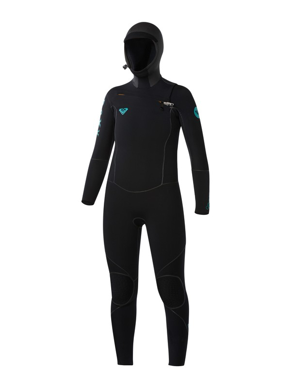 0 Cypher 5/4/3mm Hooded Chest Zip Wetsuit  ARJW203000 Roxy