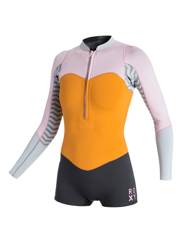 0 2mm XY Front Zip Long Sleeve Springsuit  ARJW403011 Roxy